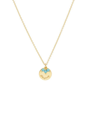 By Charlotte - Gold Radiant Blessing Necklace