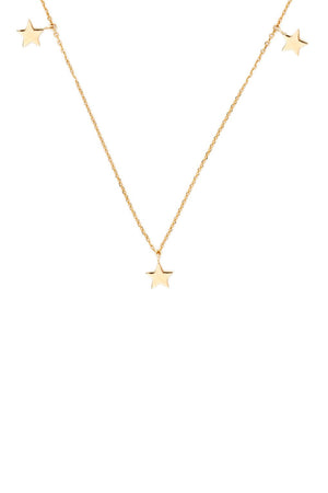 By Charlotte - Gold Star Bright Necklace