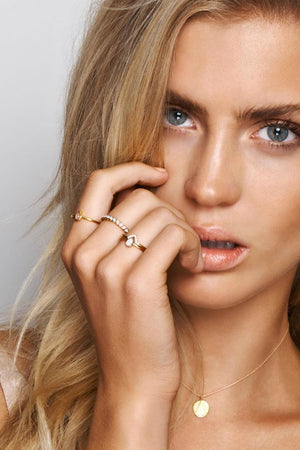 By Charlotte - Gold Truth Ring
