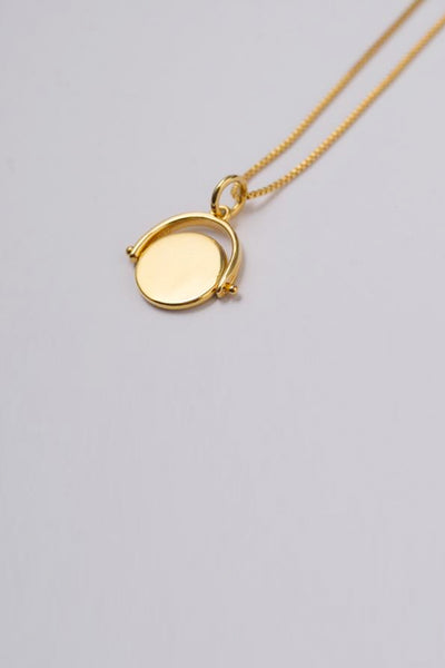 Brie Leon - 925 Spinning Disc Pendant