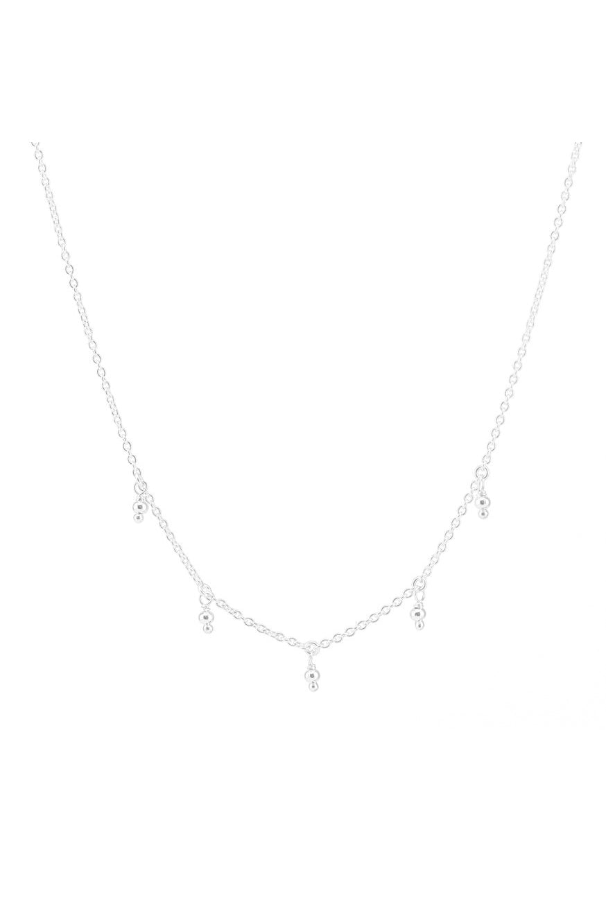 By Charlotte - Blessing Choker - Silver