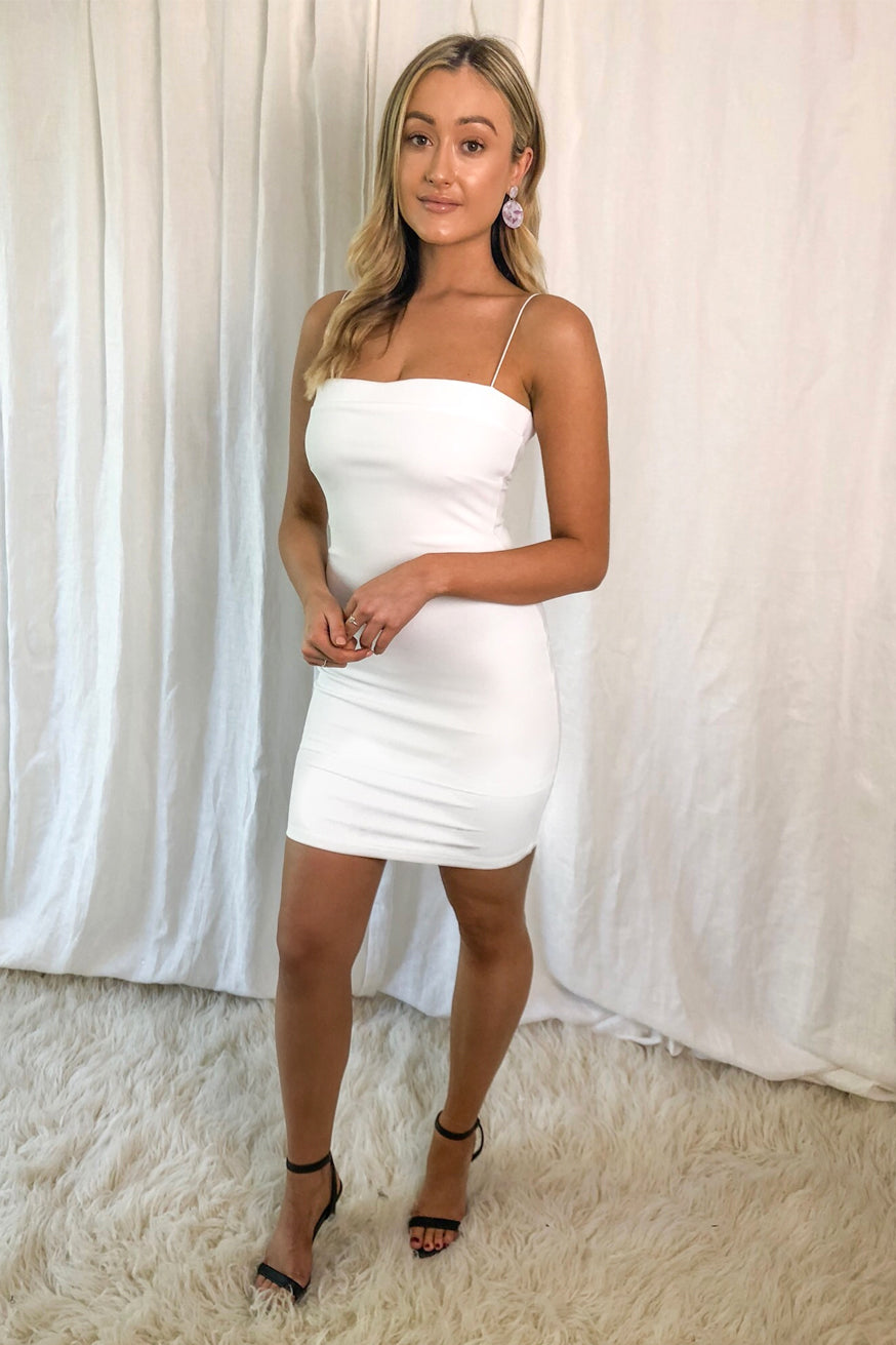 Piper Lane - Alistair Mini Dress - Ivory