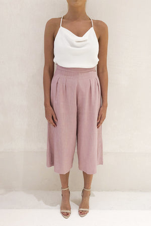 Piper Lane - Sabina Culotte - Rose Quartz