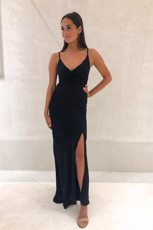 Piper Lane - The Cameron Gown - Black