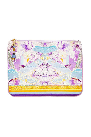 Camilla - Small Canvas Clutch - Girl In The Kimono