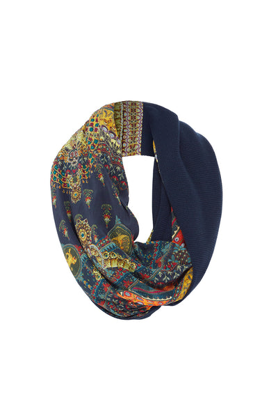 Camilla - Double Sided Scarf - Bliss Of Bohemia