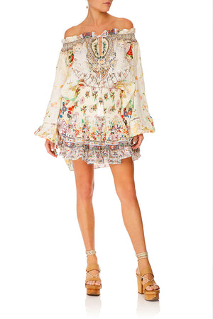 Camilla - Short Shirred Skirt - Time After Time