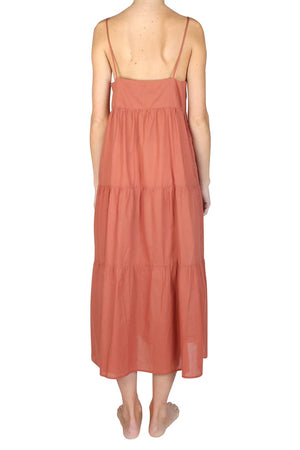 Museum Clothing - Capri Dress - Rust