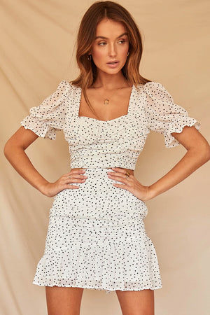 Runaway the Label - Carmella Top - White Spot