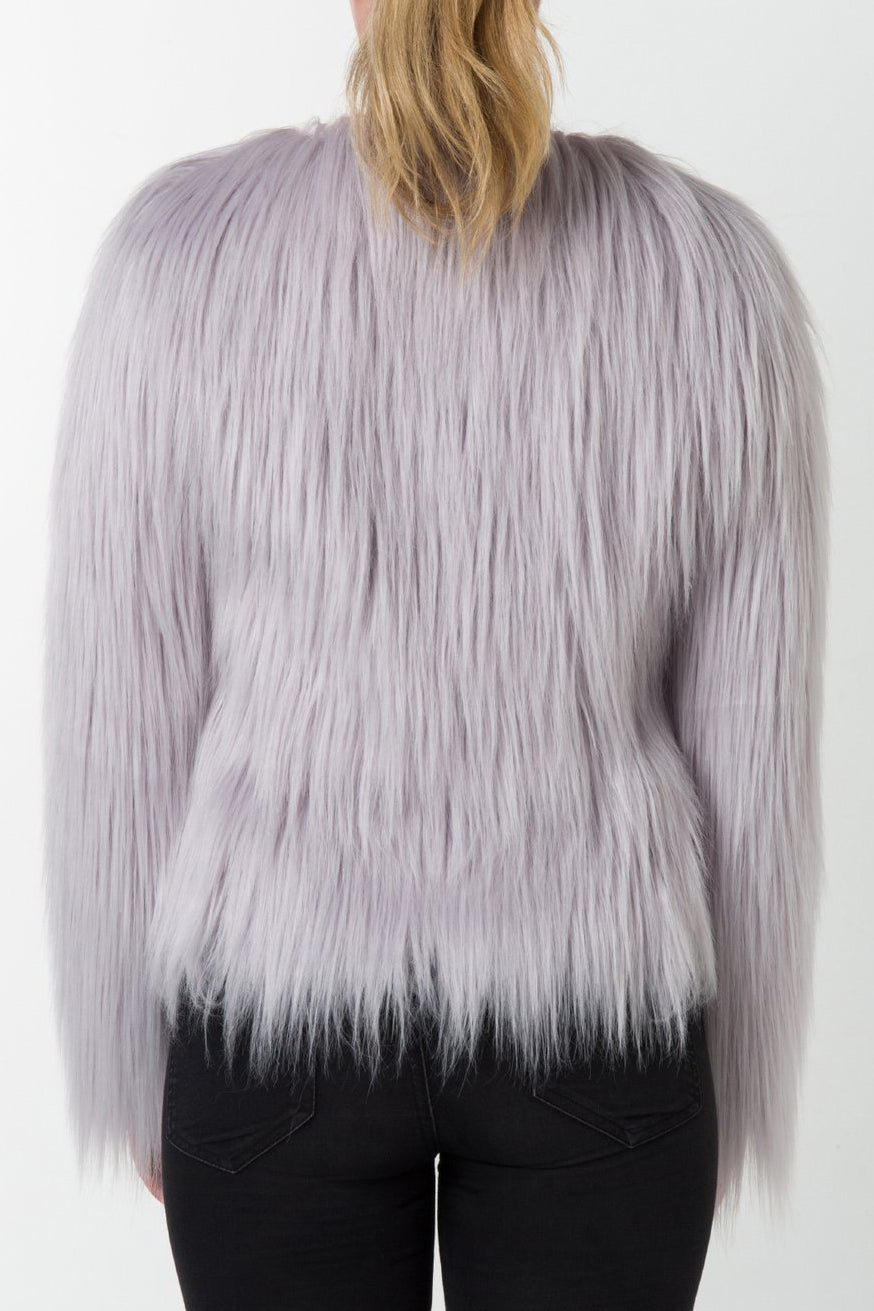 Unreal Fur - Unreal Dream Jacket - Cloud Smoke