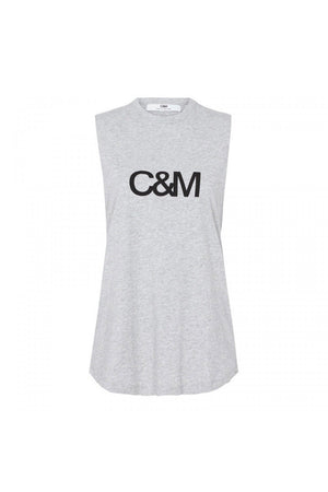 C&M - Classic Muscle Tank - Grey