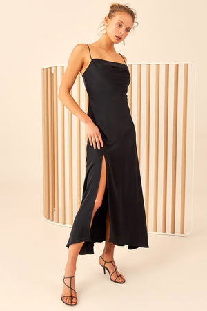 C/meo Collective - All Right Now Gown - Black
