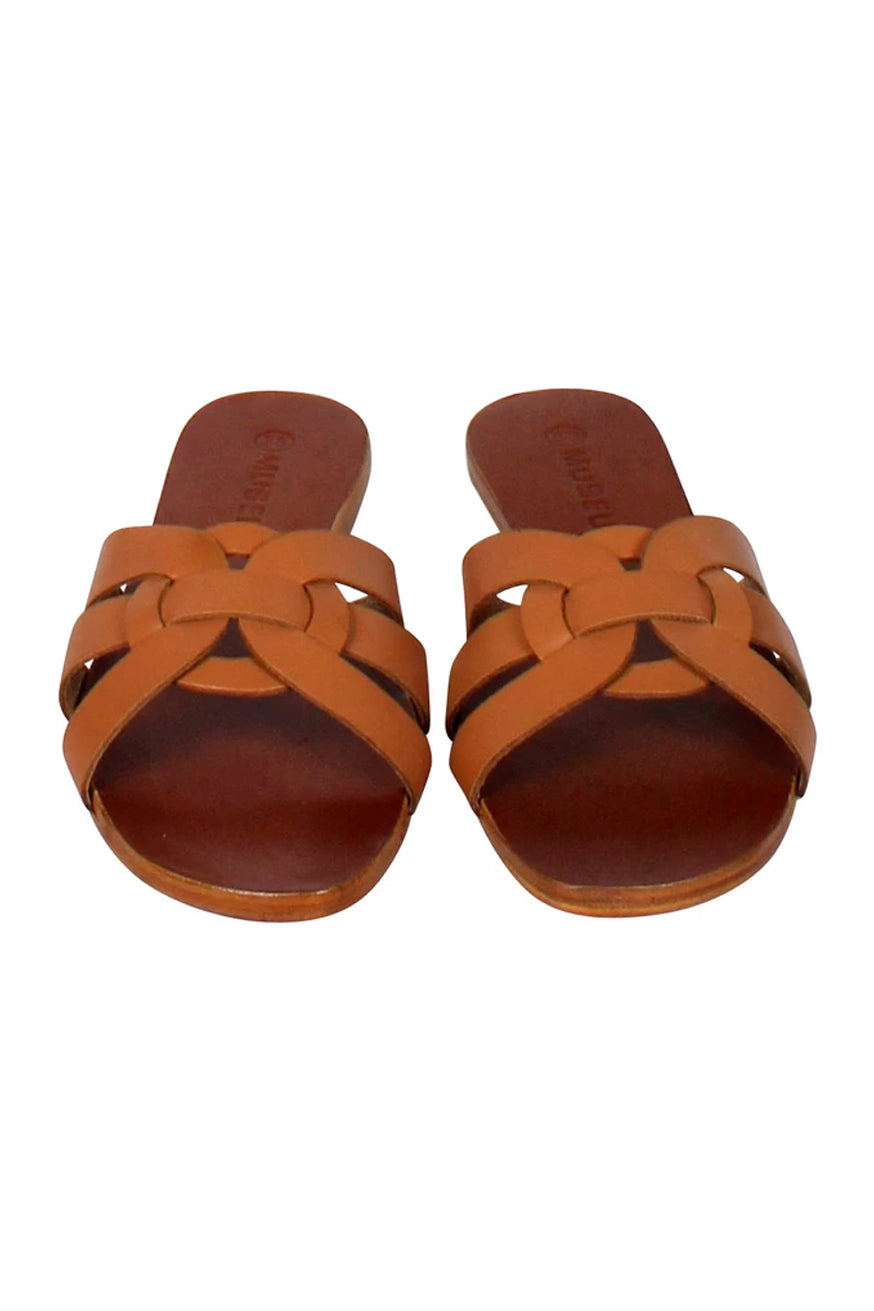 Museum Clothing - Corfu Sandals - Tan