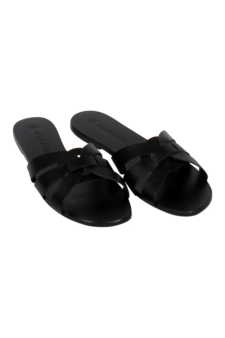 Museum Clothing - Corfu Sandals - Black