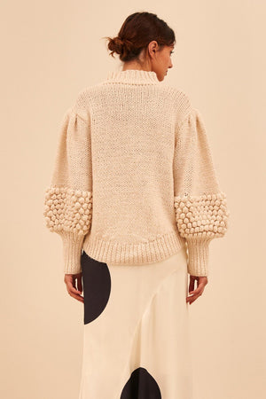 C/meo Collective - Obsess Knit Jumper - Ecru