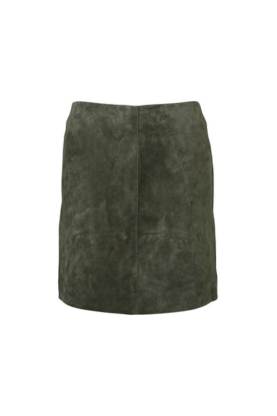Ena Pelly - Suede Mini Skirt - Khaki