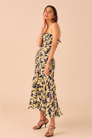 bbc3c68c C/meo Collective - Enlight Midi Dress - Marigold Floral
