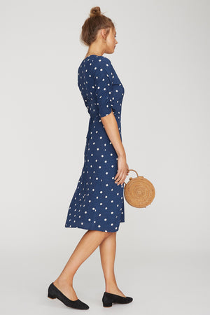 Faithfull The Brand - Anne Marie Midi Dress - Ronja Dot