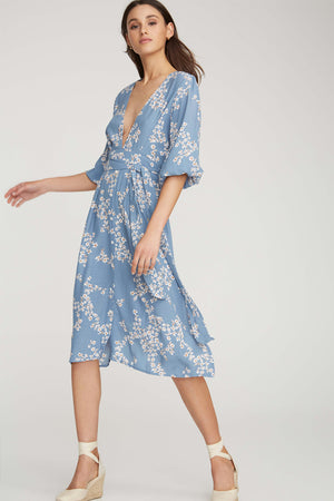 Faithfull The Brand - Chloe Midi Dress - Cap Estelle Print