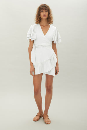 Hansen & Gretel - Jodie Dress - White