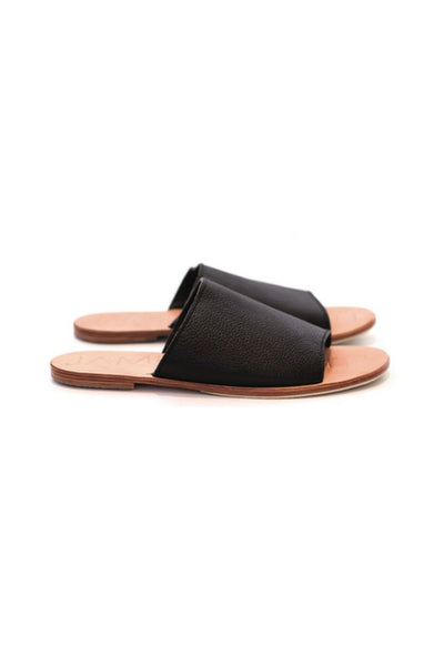 James Smith - Off Duty Pool Slide - Black/Natural