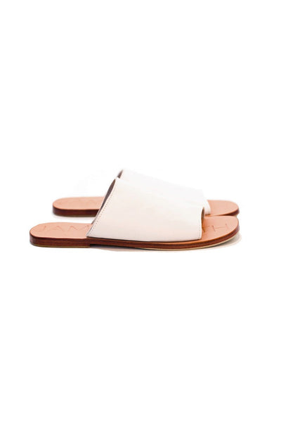 James Smith - Off Duty Pool Slide - White/Natural