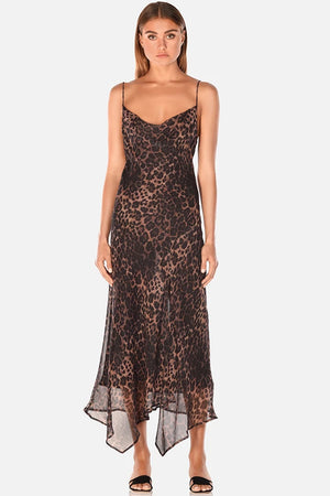 Misha Collection - Johanna Midi Dress - Leopard