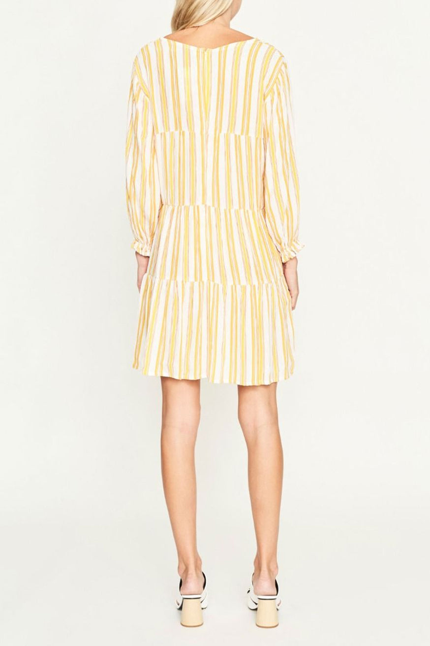 Faithfull The Brand - Le Gallion Dress - Azure Stripe Print Sun