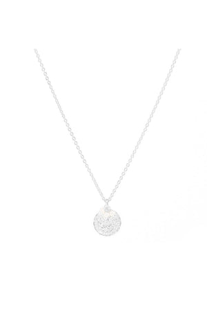 By Charlotte - Lotus Rising Necklace - Silver