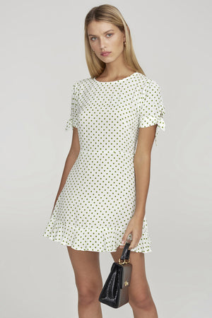 Faithfull the Brand - Daphne Dress - Lula Dot Print Green