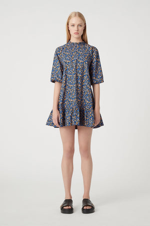 C & M - Majella Mini Shirt Dress - Lila Blue