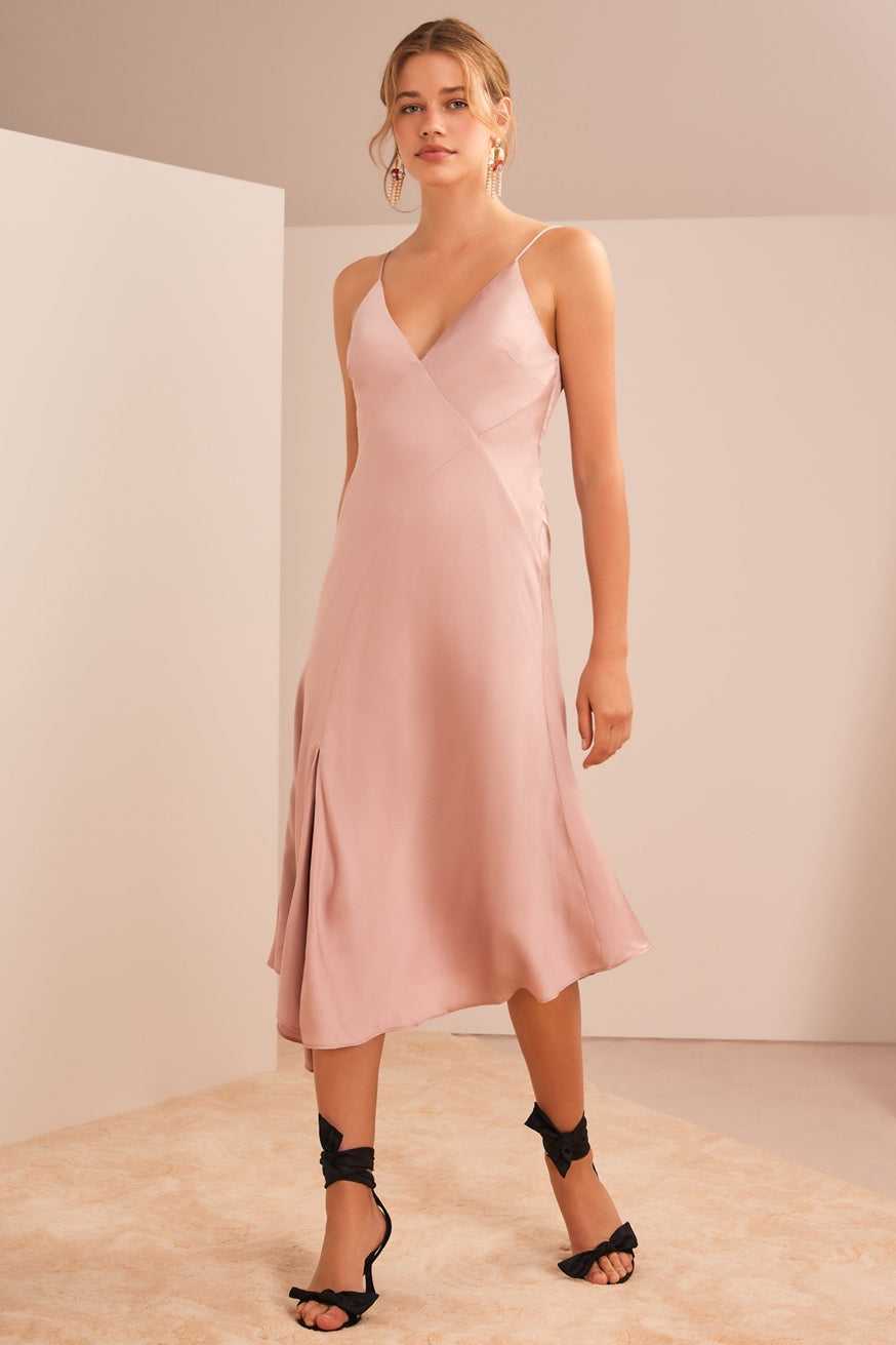 Keepsake the Label - Infinity Midi Dress - Champagne
