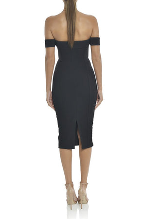 Misha Collection - Chloe Midi Dress - Black