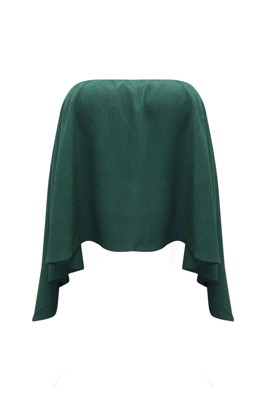 Piper Lane - Nammos Strapless Top - Emerald