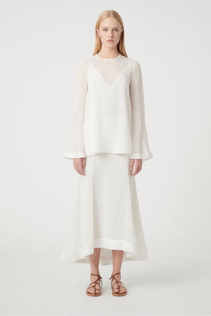 Camilla and Marc - Nell Top - Dove White