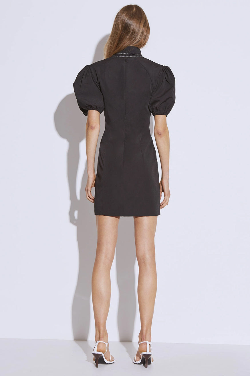 C/meo Collection - Origin Short Sleeve Dress - Black