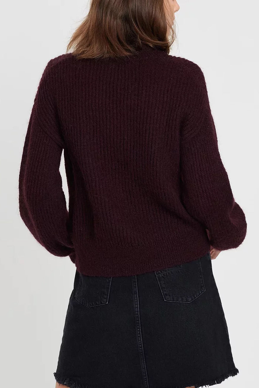 Nobody Denim - Parisienne Knit - Merlot