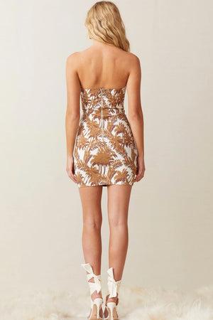 Bec & Bridge - Party Wave Mini Dress - Palm