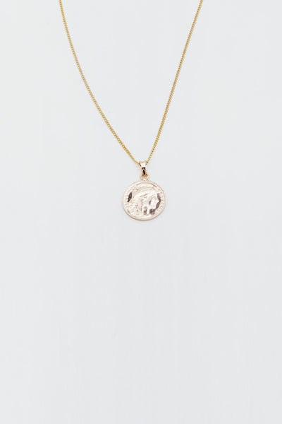Reliquia - Gold Mini Lucky Coin Pendant