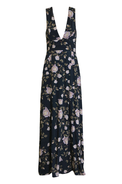 Piper Lane - Remeo Maxi - Jardins Rose Print