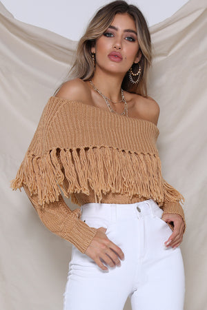 Runaway The Label - Cowgirl Knit - Tan