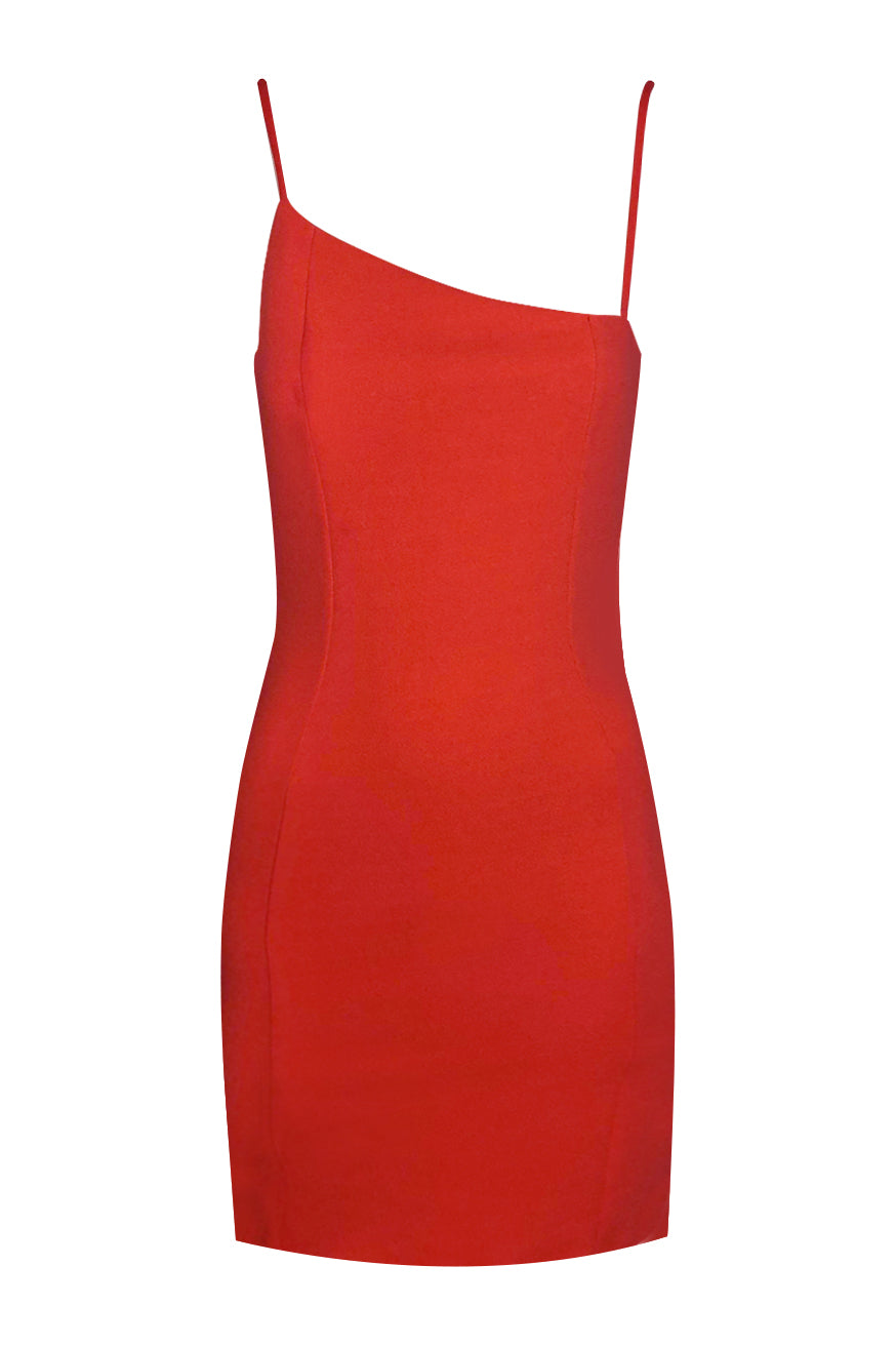 Marc cain kleid fire red