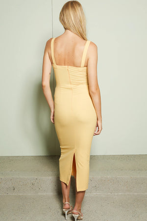 Bec & Bridge - Sadie Tuck Midi Dress - Sherbet