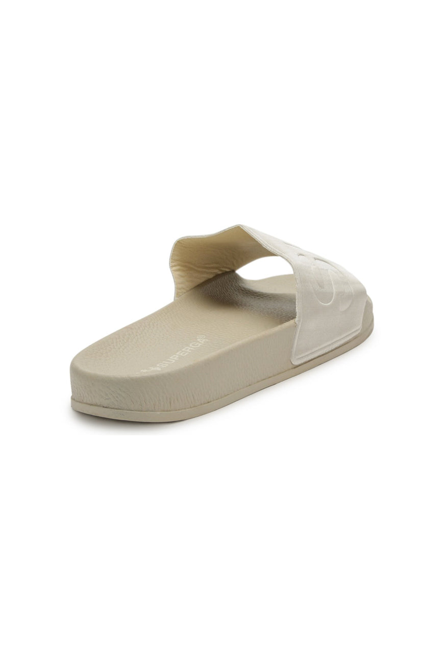Superga - 1908 Satin Slides - Beige