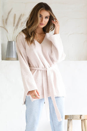 Seven Wonders - Sophia Slouch Knit Jumper - Blush