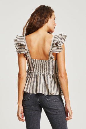 Vestire - El Dorado Frilled Top