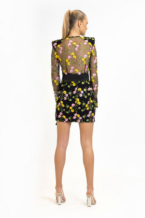 Zhivago - In The Garden Mini Dress