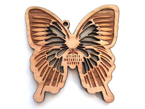 Mountain Swallowtail Butterfly Ornament with Logo Imprint