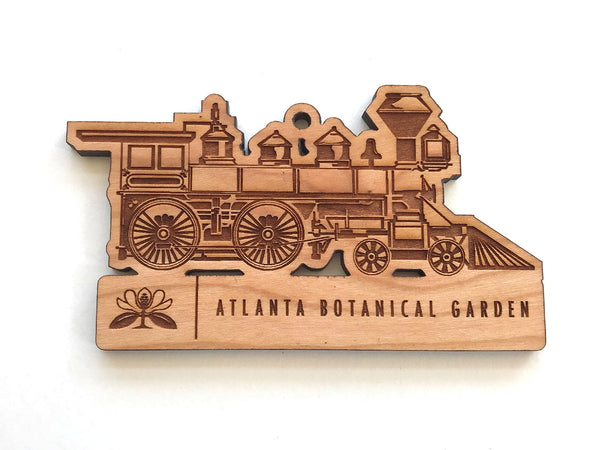 Train Ornament with Logo Name Drop
