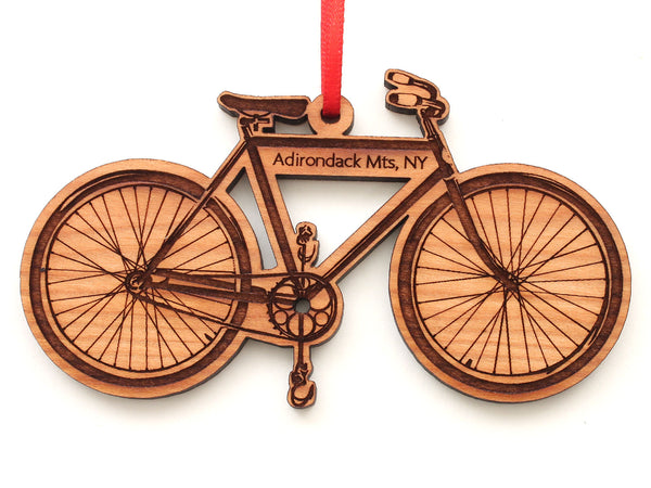 Adirondack Mountains Bike Ornament